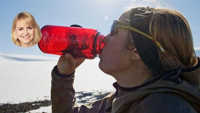 Hur mycket vatten är det hälsosamt att dricka?