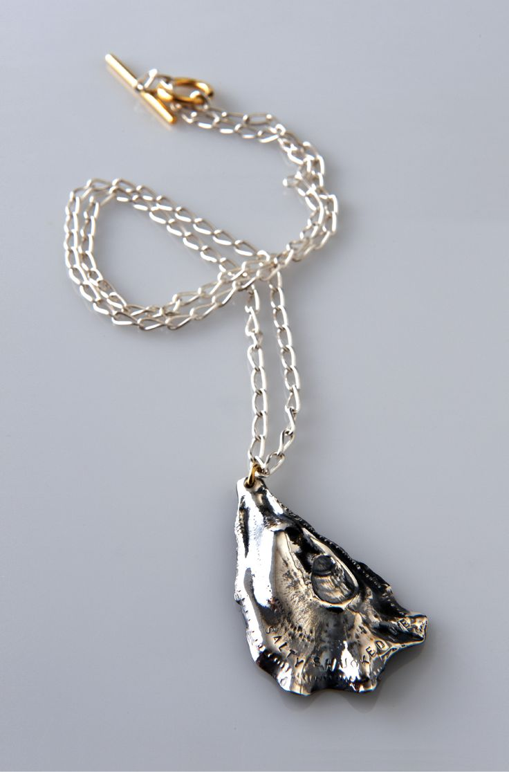 Lucy Folk presents SEAFOOD - 2010 - OYSTER NECKLACE