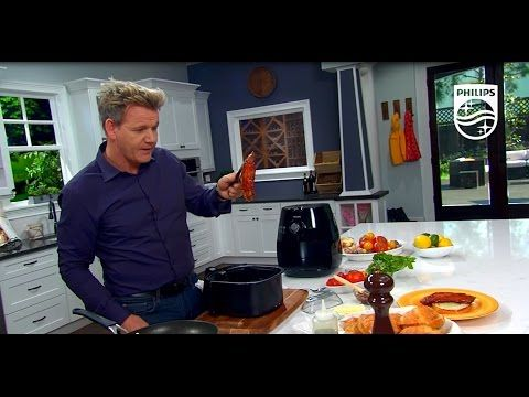 BBQ Glazed Bacon and Eggs Recipe with Gordon Ramsay | Philips | Airfryer | HD9220 - YouTube