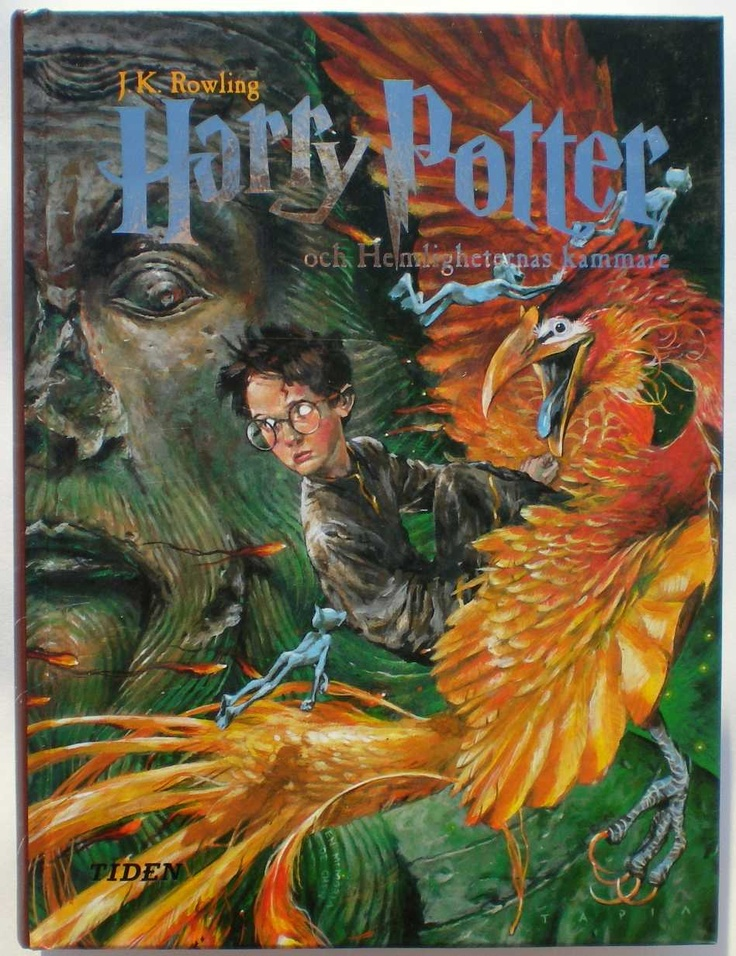 """The swedish cover for """"Harry Potter & the Chamber of Secrets"""" = """"Harry Potter & Hemligheternas Kammare"""" by Alvaro Tapia ^^"""