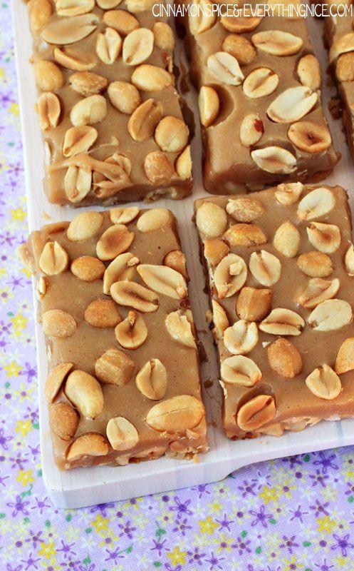 Salty Peanut Caramel Bars