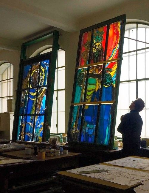 Enjoy a unique Krakow sightseeing with a guide. Discover the beauty of Art Nouveau stained glass windows and visit Stained Glass Museum Krakow!
