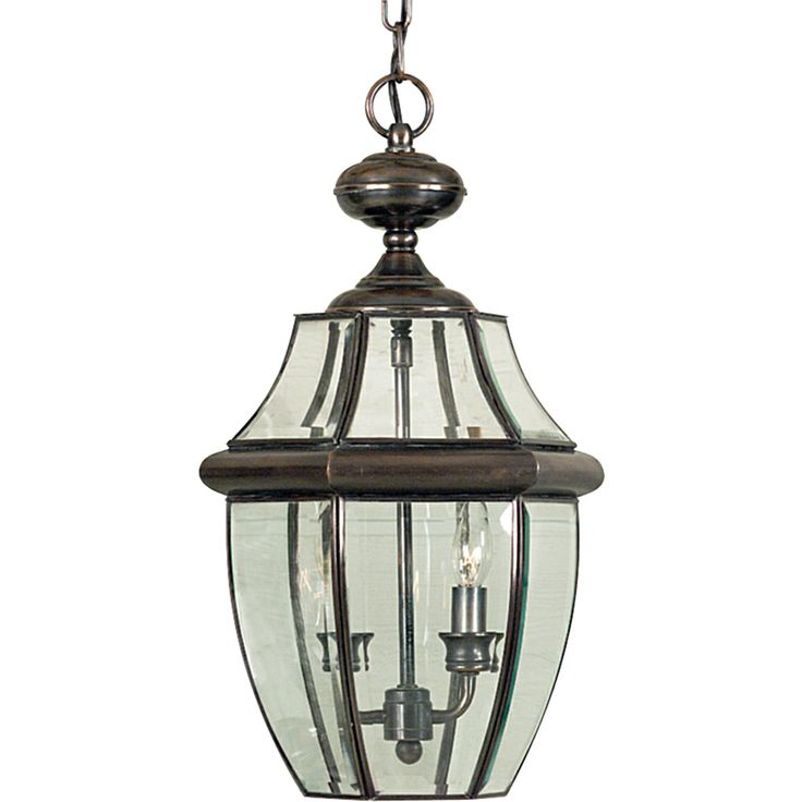 Newbury Americana Style Outdoor Fixture In Aged Copper Finish From Quoizel Lighting NY1178AC Hanging LanternsOutdoor