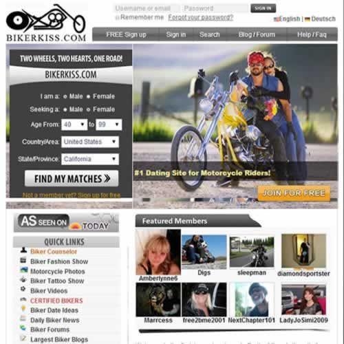Biker kiss dating site