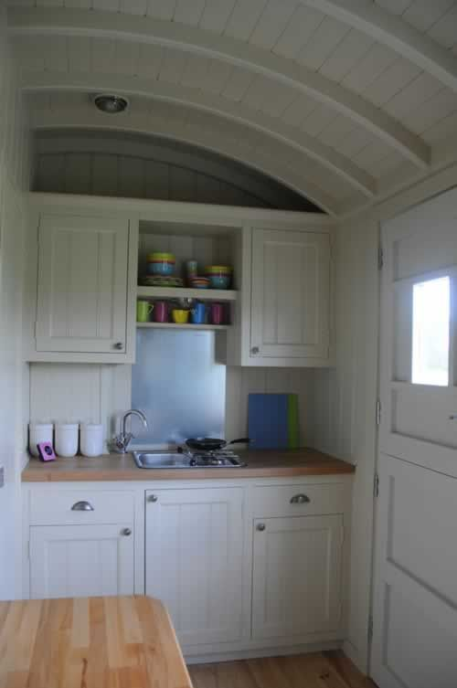 Cool Shepherd's Hut Interior