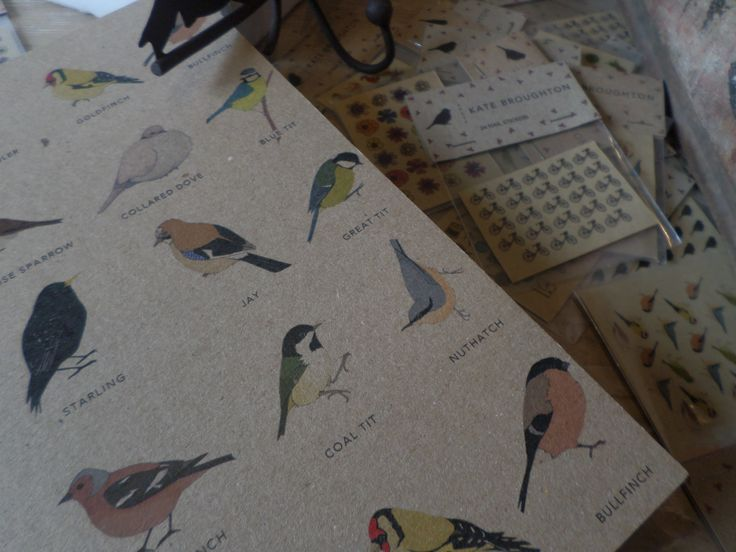 Beautiful notebook from Kate Broughton