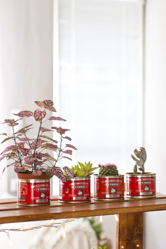 Upcycled tins