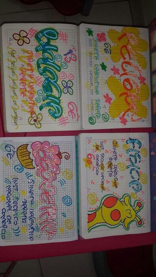 Letras De Decoracion Para Cuadernos ~ 1000+ Ideas Para Decorar Cuadernos on Pinterest  Decorate Notebook