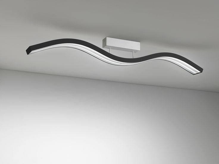 New Volo Led lighting black New Volo plafoniera led nera #lighting