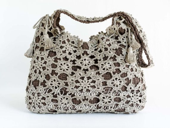 Crochet Purse Pattern - Crochet Bag Pattern - Handbag - Messenger Bag - Shoulder Bag - Crossbody Bag - Drawstring Bag - PDF Pattern with charts and step-by-step pictures  Get 10% off on $15 Order - Enter Coupon Code SAVE10 Get 15% off on $25 Order - Enter Coupon Code SAVE15 Get 20% off on $50 Order - Enter Coupon Code SAVE20 Subscribe to my newsletter to receive 20% off instantly and multiple discounts in the future: www.OutstandingCrochet.com *This is a crochet pattern and not the finished…