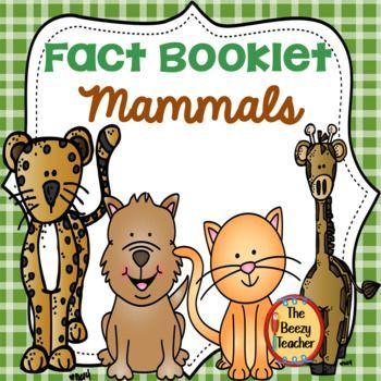 Saugetiere Fact Booklet Mammals Activities Mammals Kindergarten Activities