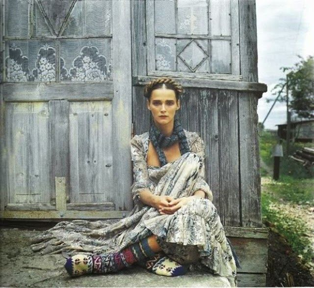 Русский стиль в современной моде и на фото. Часть 1. / The Russian style in the modern fashion and on the photo. Part 1.