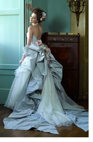 256 best Vestidos de novia con color images on Pinterest | Xv ...