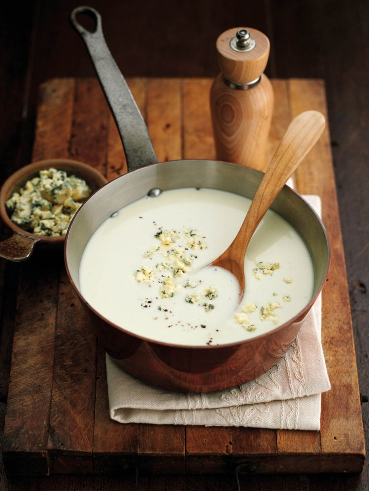 Why not try this warm, filling and easy-to-make potato, leek and Stilton soup recipe for dark winter days.