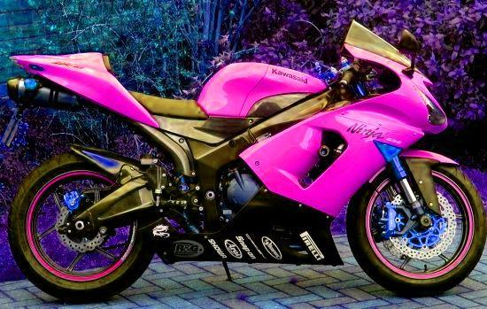 pink bikes for women   Dyno Tuning UK - The Kawasaki ZX6R at Seastar Superbikes