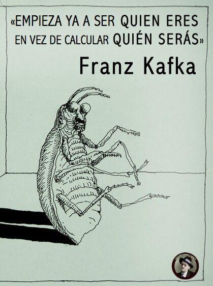 Celebrando 100 años de La metamorfosis, del acertivo Franz #Kafka. #literatura #frases