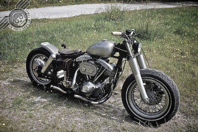 Concours RAD : Harley-Davidson 1200 Shovelhead by Groseb...