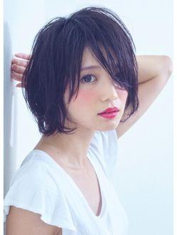 サクラ(SAKURA サクラ )【SAKURA表参道】大人かわいい黒髪ショート 担当:塩見友良