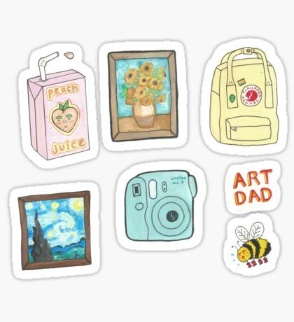 Pegatinas Tumblr Aesthetic Stickers Tumblr Stickers Cute Stickers