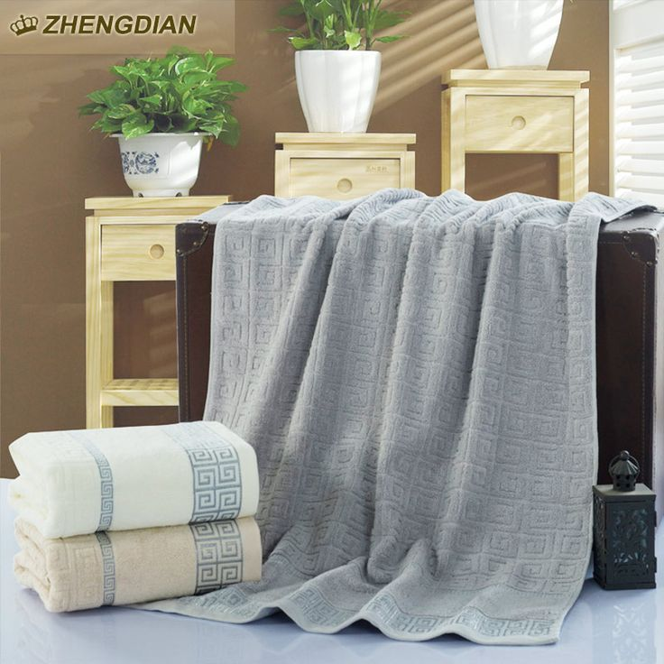 Zhengdian 100% Cotton Embroidered Towels Home Bathroom Beach Towel for Adults High Quality Soft comfortable bath toalhas