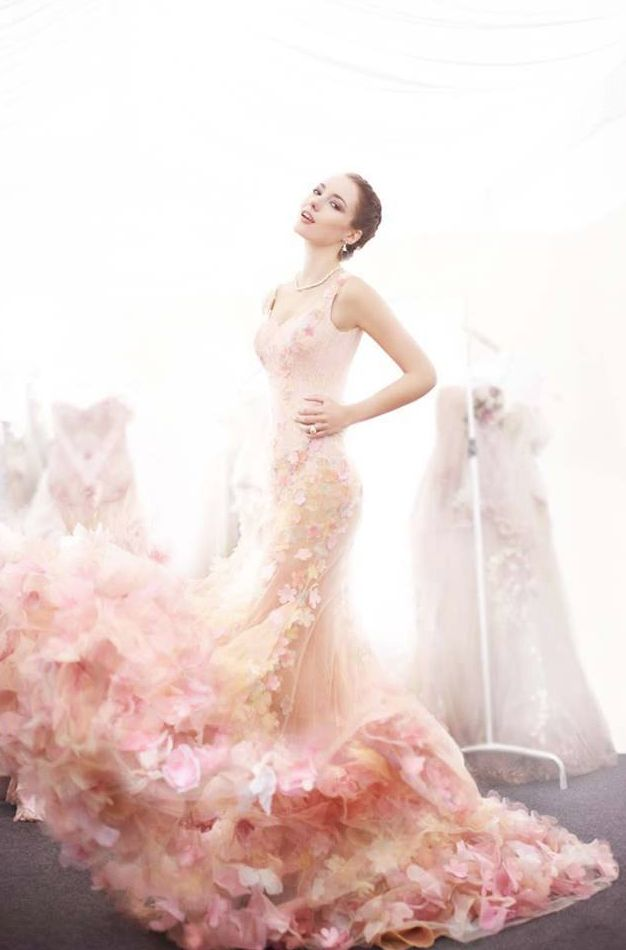 How amazing is this dress? Would you wear this as your wedding gown?