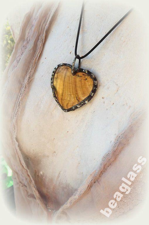 Serce z jaspisu - Dzień Matki
