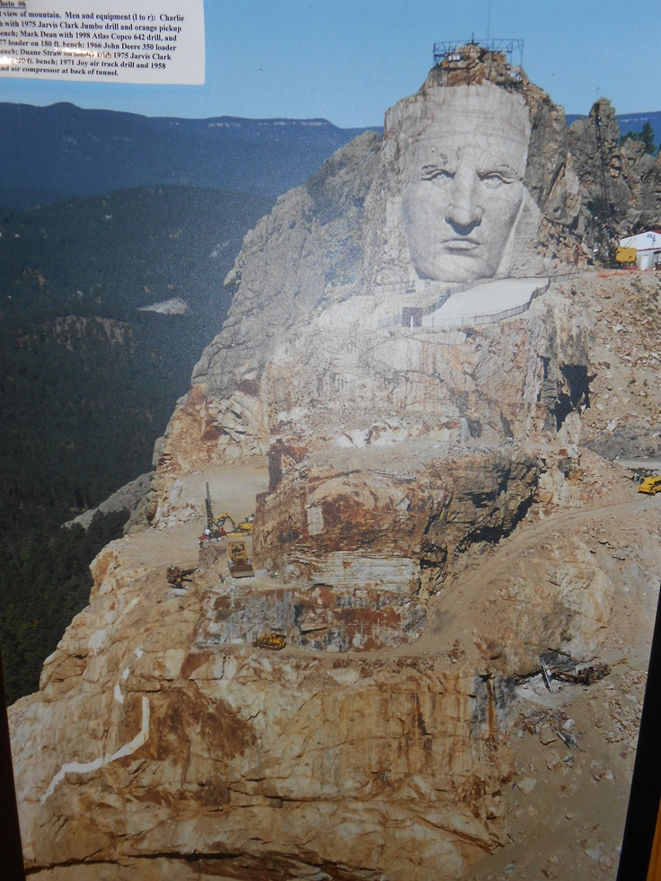 Crazy Horse,  The Black Hills of South Dakota :) This is such a wonderful place ! My wish is that anyone reading this will someday get to see this in person !