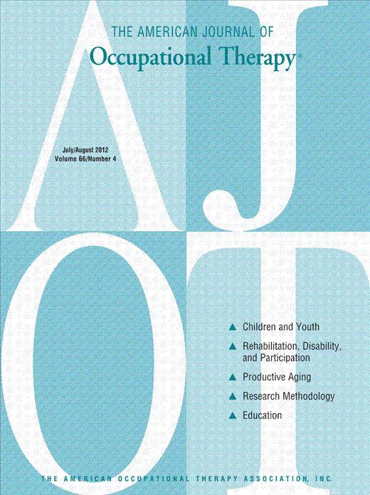 Test–Retest Reliability of the Sensory Profile Caregiver Questionnaire