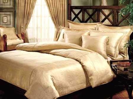 Silk bedding ...lush