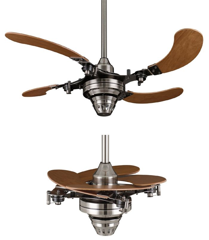 Best Of Retracting Blade Ceiling Fan
