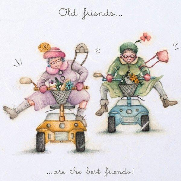 Cards Old Friends Old Friends Berni Parker Designs In 2020