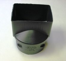 """HDPE 4"""""""" x 6"""""""" x 6"""""""" Singlewall Downspout Adapter"""