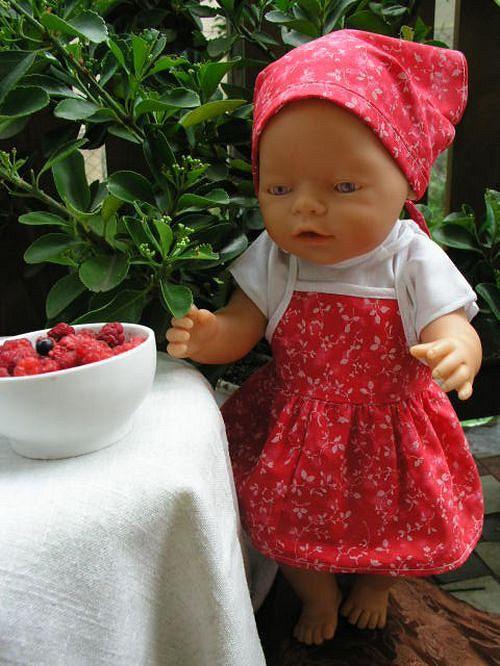 Letní oblečení pro Baby Born