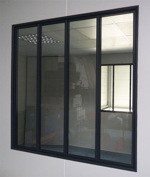 Eco Verrière -  Verriere d'interieur, cloison vitrée