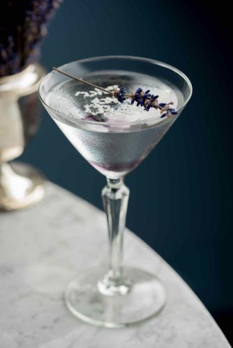 Patterns of The Snow, inspired by Dawn Reader's winter landscape Snow Queen vodka, lavender syrup, vanilla vodka & Koko Kanu coconut rum, £9.50 Snow Queen vodka, lavender syrup, vanilla vodka & Koko Kanu coconut rum, £9.50
