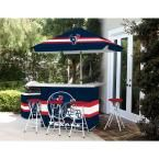 Best of Times Houston Texans All-Weather Patio Bar Set with 6 ft. Umbrella
