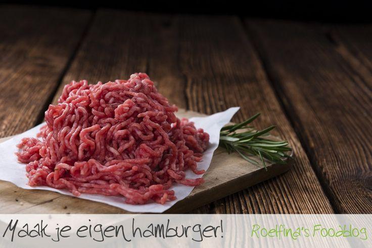 Maak je eigen hamburger!