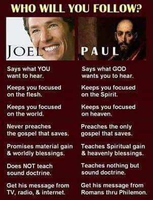 Paul for sure!