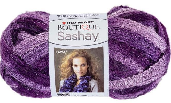 Maggie's Crochet · Red Heart Boutique Sashay Yarn