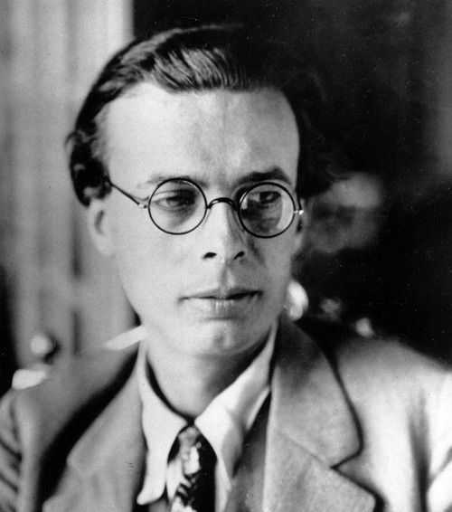 It is a bit embarrassing to have been concerned with the human problem all one's life and find at the end that one has no more to offer by way of advice than 'try to be a little kinder.'  Aldous Huxley, uncredited photo.