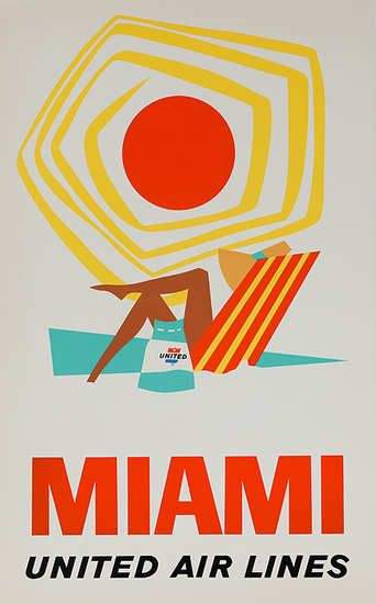 United Air Lines ~ Miami http://www.dpvintageposters.com/cgi-local/db_images/posters/cache/8933-image-450-550-fit.jpg