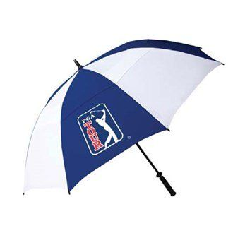 UK Golf Gear - PGA Tour 62 Inch Windproof Umbrella with Fiberglass Shaft and Easy Opening and Closing System, Higher Stability in Windy Conditions