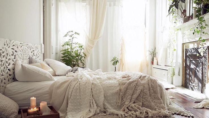 11 romantiska sovrum med en bohemisk touch