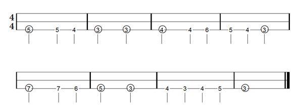free dulcimer tablature