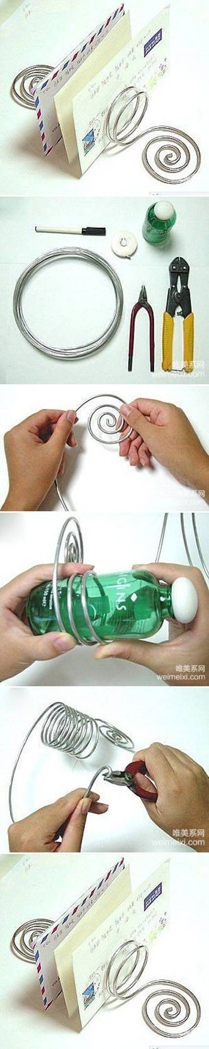 DIY Wire Letter Stand DIY Projects | UsefulDIY.com