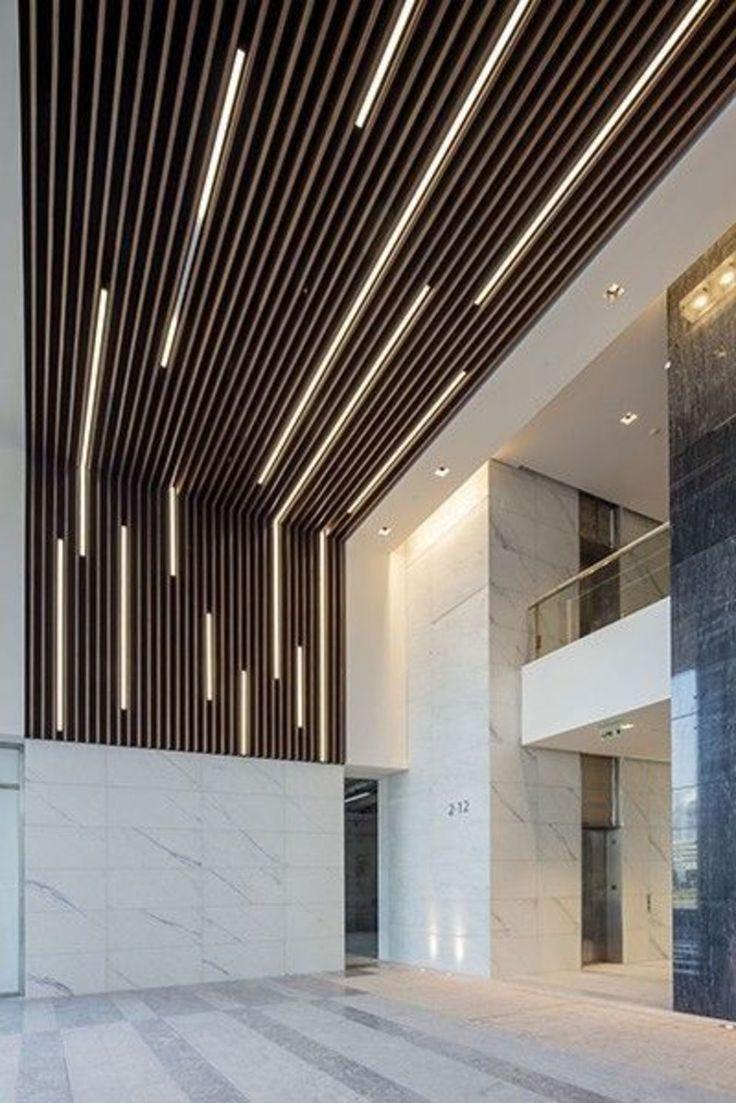 Aesthetic False Ceiling Ideas Gracing Beautiful Decor of Modern Office Designs