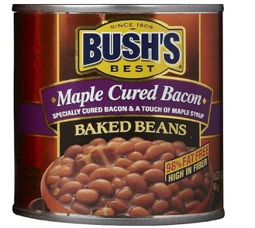 Bush's Best Maple Cured Bacon Baked Beans 16 oz $7.49