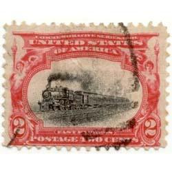 2 cent U.S. postage stamp