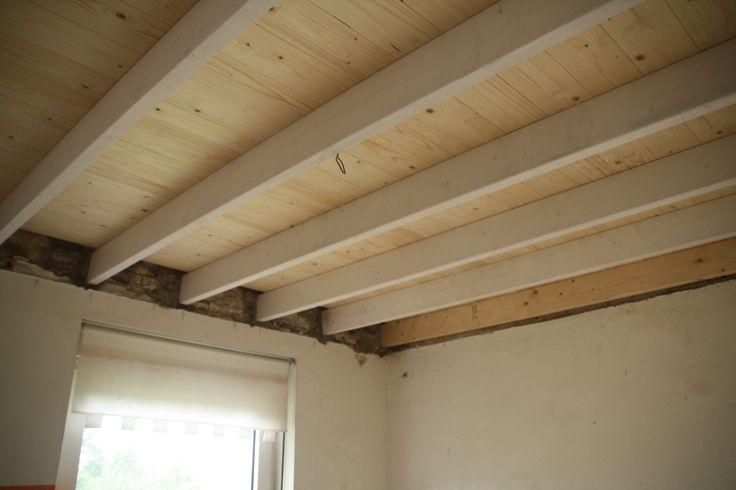 Meer dan 1000 idee n over balken plafonds op pinterest plafonds met houten balken balken en - Plafond met balk ...