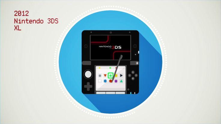 Brief history of Nintendo handheld video consoles. on Vimeo
